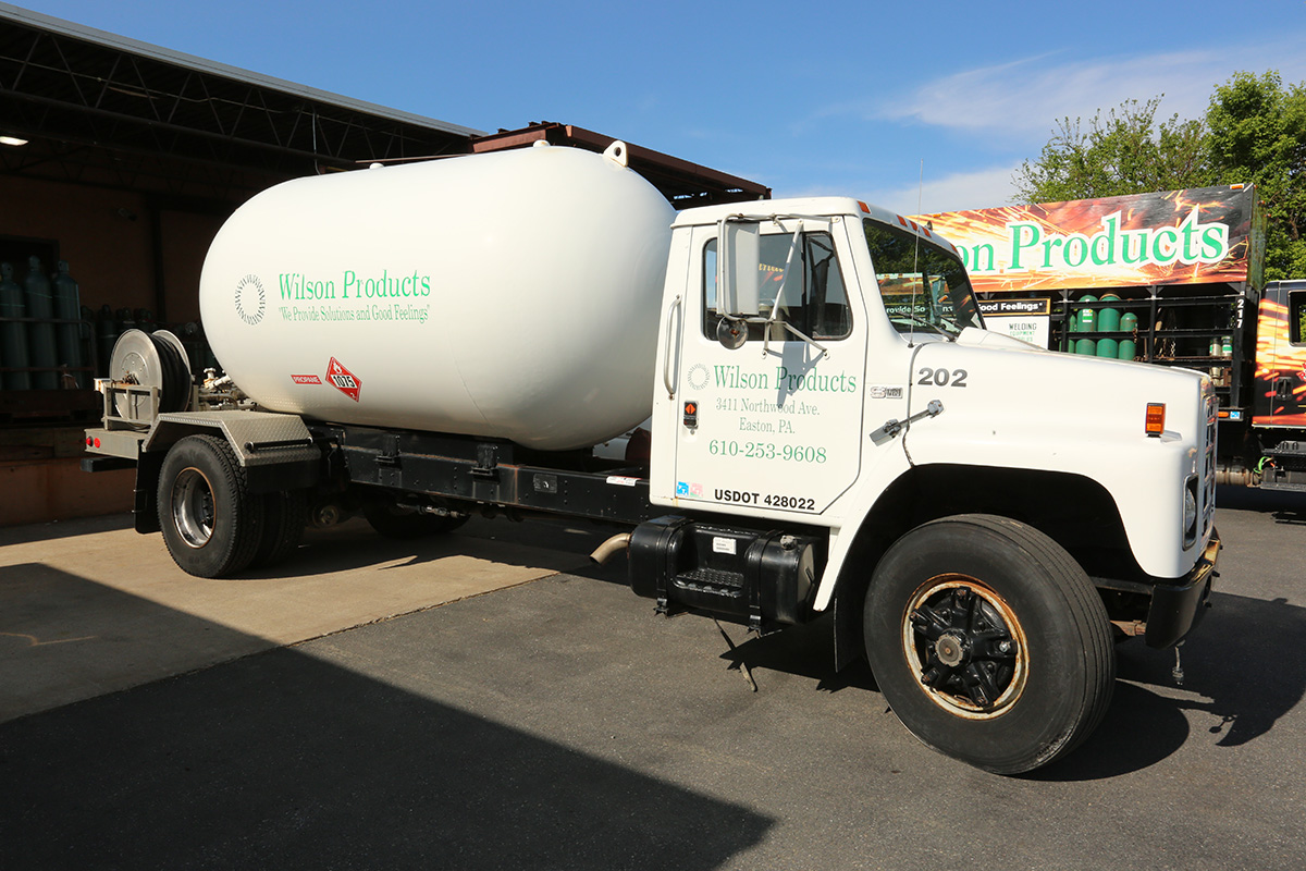Wilson Products Gas Truck