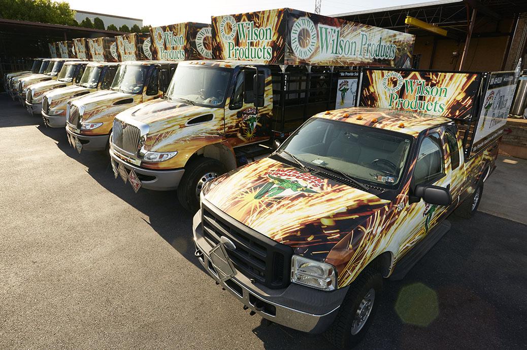 Wilson Products Truck Fleet Easton, PA